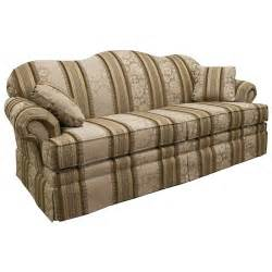 lancer 3600 traditional camelback sofa with skirt sheely