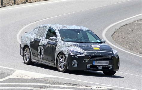 all new ford focus 2018 spied 2018 ford focus sedan undergoing weather