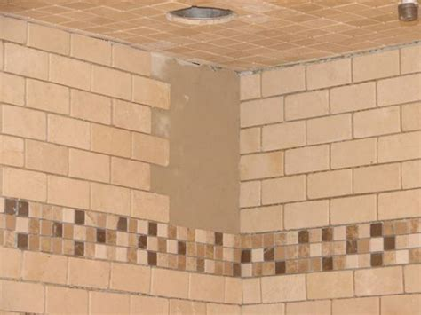 tile pattern in thirds how to install tile in a bathroom shower how tos diy