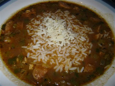 the savory notebook cajun seafood gumbo with andouille smoked sausage