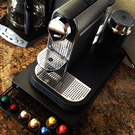 nifty nespresso capsule drawer holds 60