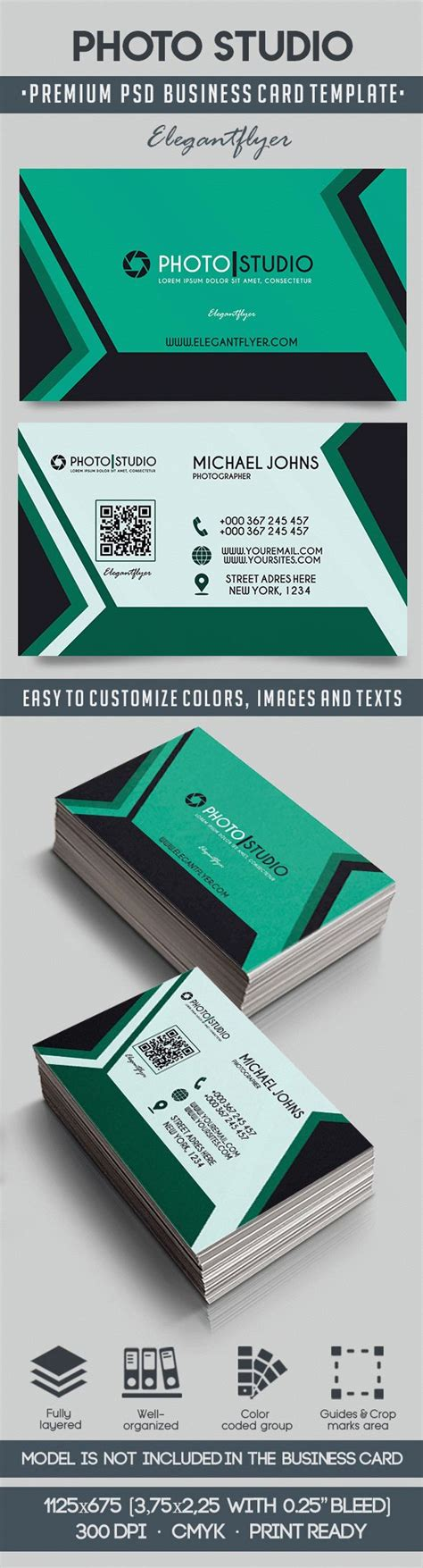 premium business card templates photo studio premium business card templates psd by