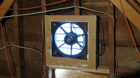 solar powered attic fan reviews using cheap junkyard car parts to make a solar powered
