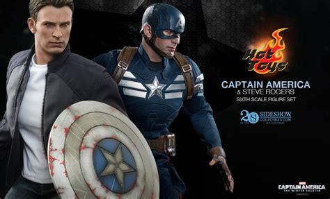 Figure Captain America Robocop Batman Set S4c toys captain america set sideshow collectibles