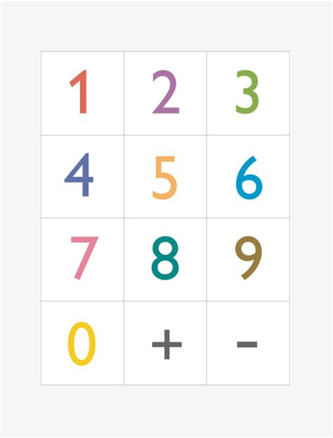 Used Gift Card Numbers - printable numbers mr printables