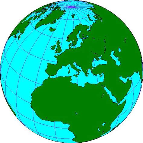 europe globe map best photos of europe map clip europe map vector