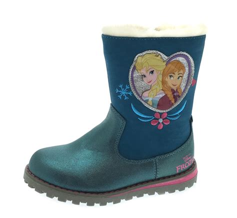 frozen boots disney frozen warm winter boots faux fur trim snow