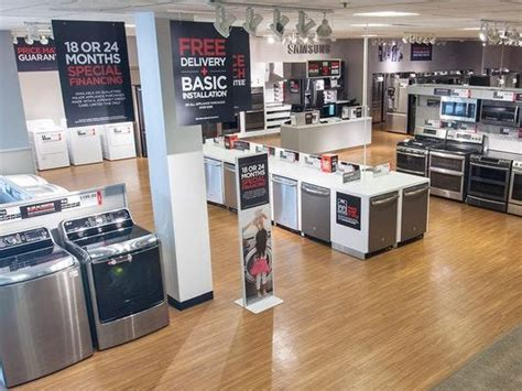 meridian mall jc penney  unveil major appliance showroom
