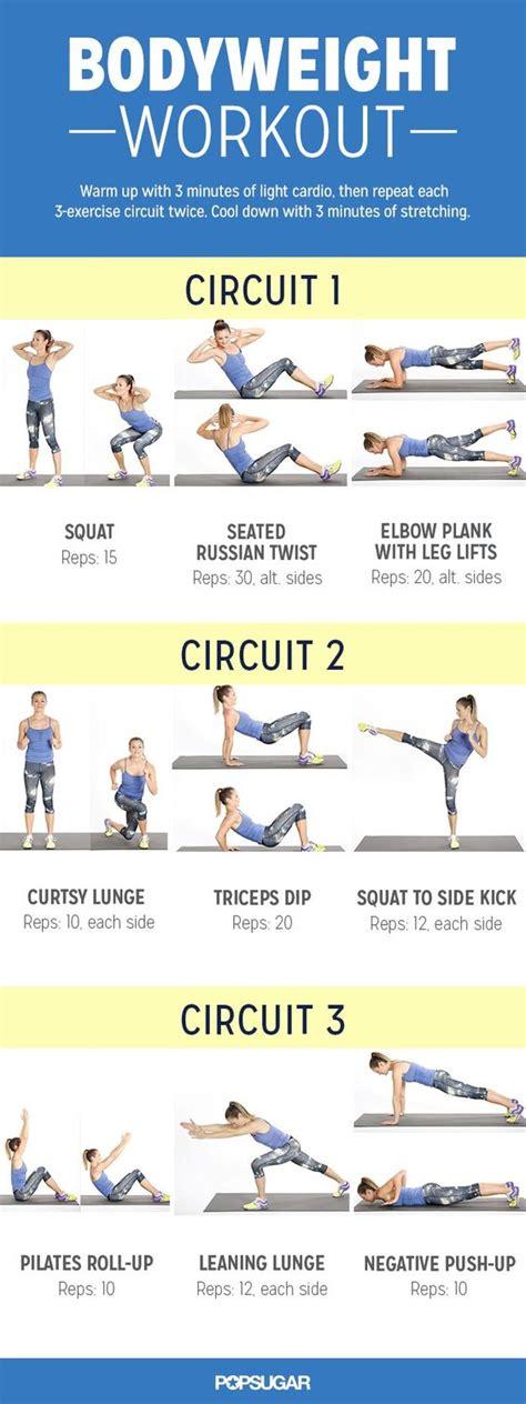 this at home bodyweight workout leaves no unworked
