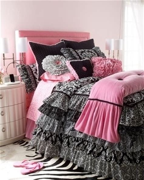 pink and black bedding pictures photos and images for