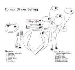 How To Set A Formal Table by Wedding Wednesdays How To Set A Formal Table Blog