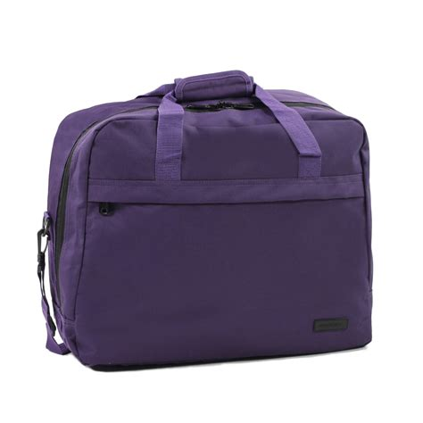 Cabin Bag 55cm X 40cm X 20cm by Members Essentials On Board Travel Bag Cabin Size Holdall