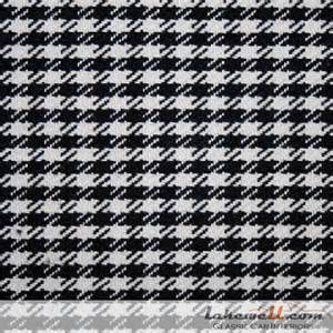 White Upholstery Fabric Porsche Quot Pepita Quot Houndstooth Fabrics Fabrics General