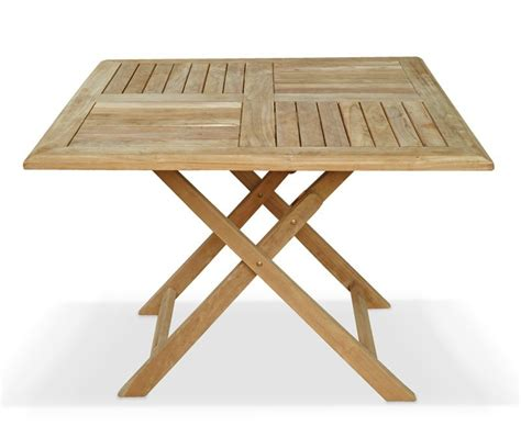 Foldable Dining Table Folding Teak Outdoor Dining Table Atlantic Outdoor Folding Dining Table Teak Garden Dining Set With Folding Square Table 4 Stacking Chairs