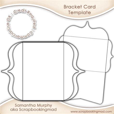 bracket card invitation insert envelope commercial use