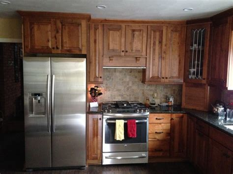 black rustic kitchen cabinets by kraftmaid kitchen kraftmaid cabinets rustic birch