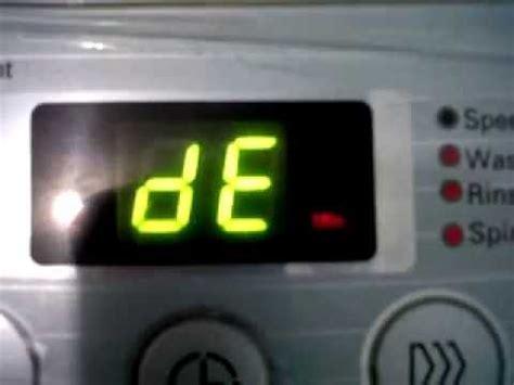 Mesin Cuci Lg Turbo Drum mesin cuci lg ef l801tc error de