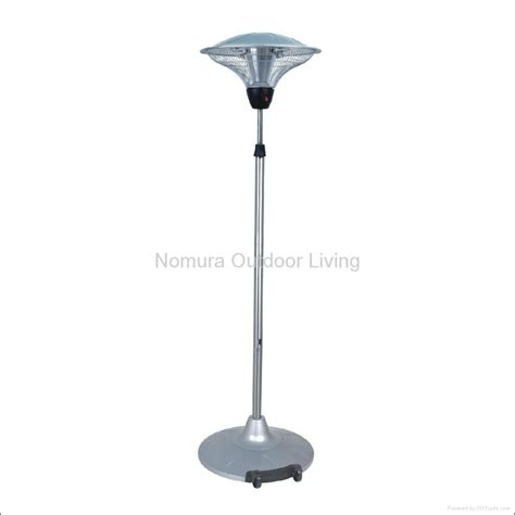 Outdoor Electric Patio Heater Stainless Steel Outdoor Electric Patio Heater Npo 15l00 Nomura United States Of America
