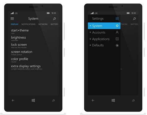 Microsoft Mobile windows 10 for mobile is here in a wonderful concept concept phones