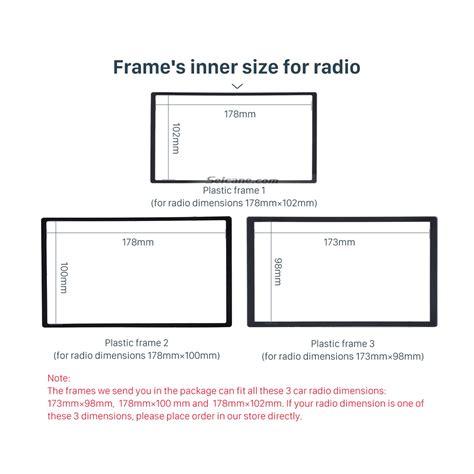 Frame Chvrolet Sparkbeat 2014 2 din 2014 daewoo martiz chevrolet spark beat car radio fascia dash dvd player stereo
