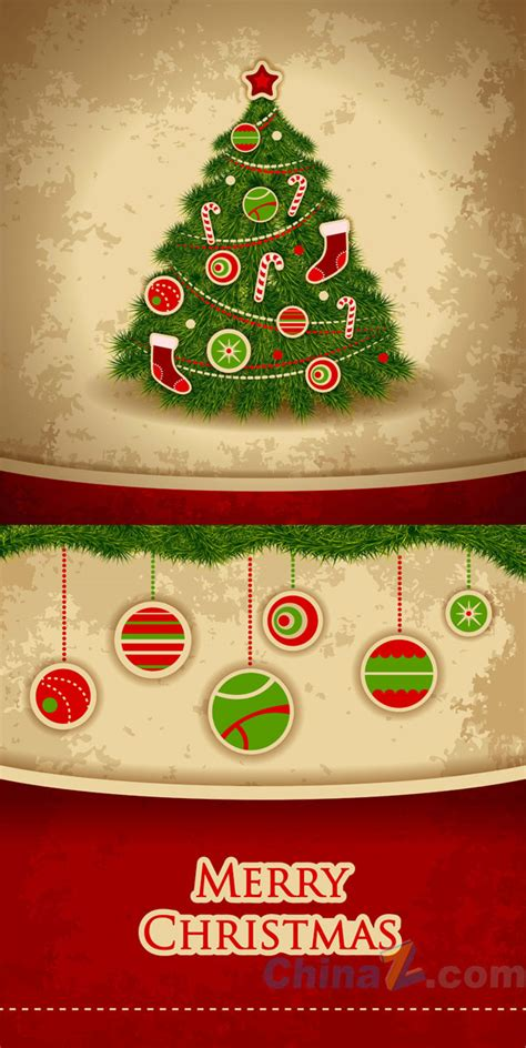 christmas poster template vector free vector graphic