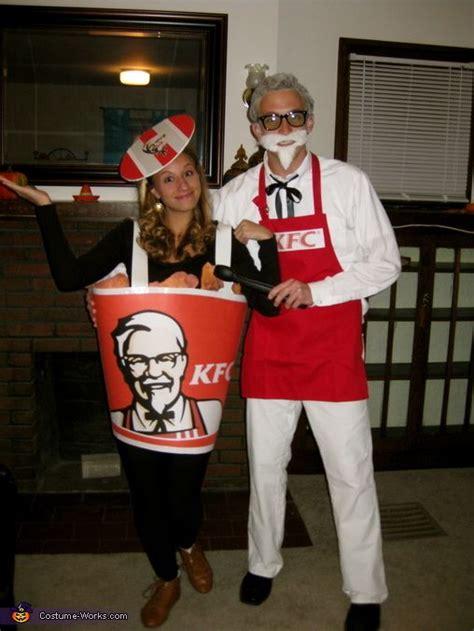 colonel sanders  bucket  fried chicken halloween