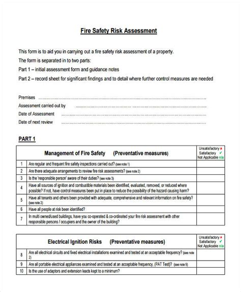 100 food safety risk assessment template food