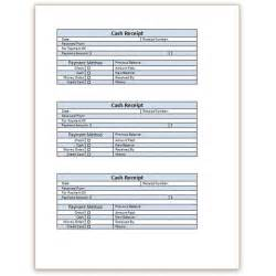 Receipt Template Word by A Free Receipt Template For Word Or Excel