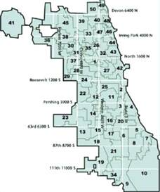 Chicago Alderman Map by Chicago S Dumbest Wards Nbc Chicago