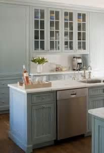 Blue Gray Kitchen Cabinets A Touch Of Blue Design Manifestdesign Manifest