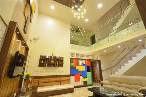 Ceiling Height In India by Shah House By Manish Shah Architect In Pune Maharashtra