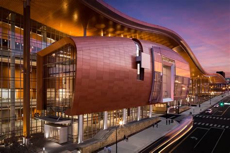 music city center nashville tn lighting design by cm nashville architecture and interiors photographer parker