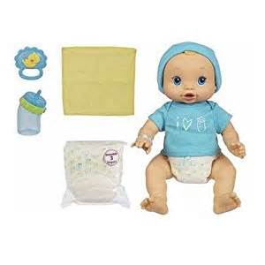 Amazon com hasbro baby alive wets amp wiggles boy doll toys amp games