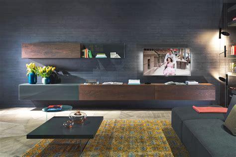 parete attrezzata soggiorno mobili di design per il soggiorno lago design