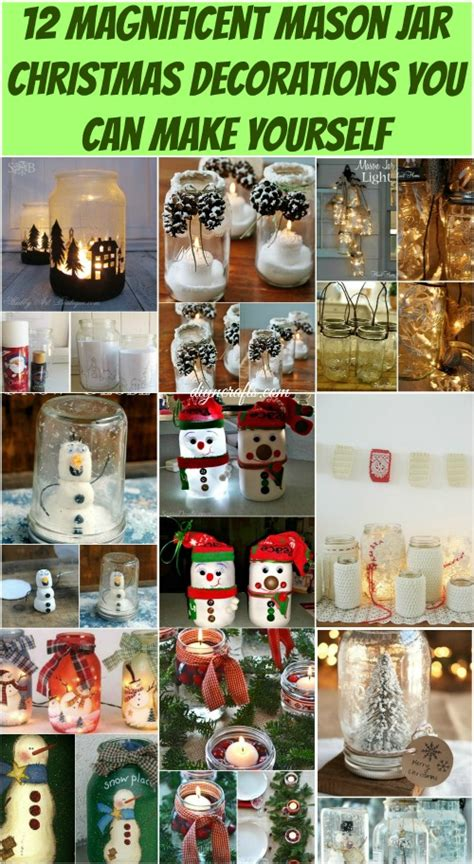 decorations that you can make 12 magnificent jar decorations you can