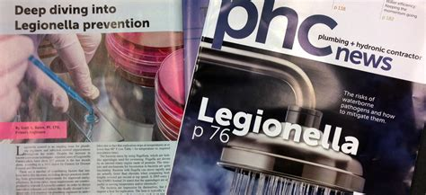 Plumbing Engineer Magazine by Diving Into Legionella Prevention Featured In Phc