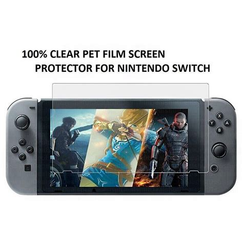 Lcd Screen Protector For Nintendo Switch nintendo switch tempered glass screen protector for