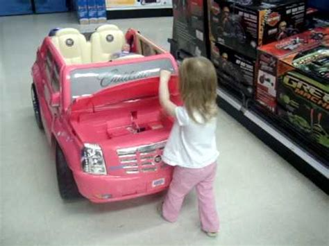 fave thing at toys r us the quot pink car quot that she