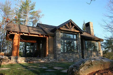 rustic architecture house plans architectural designs house plan 11529kn 681 sq ft vacation escape rustic