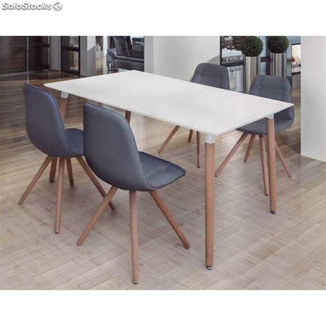 mesa y sillas blancas mesa y sillas comedor modernas blancas