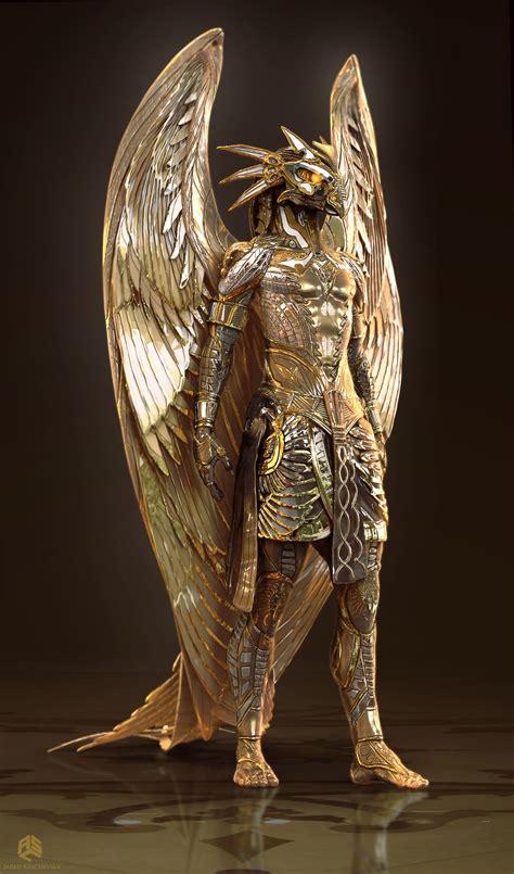 Horus In artstation gods of horus jared krichevsky