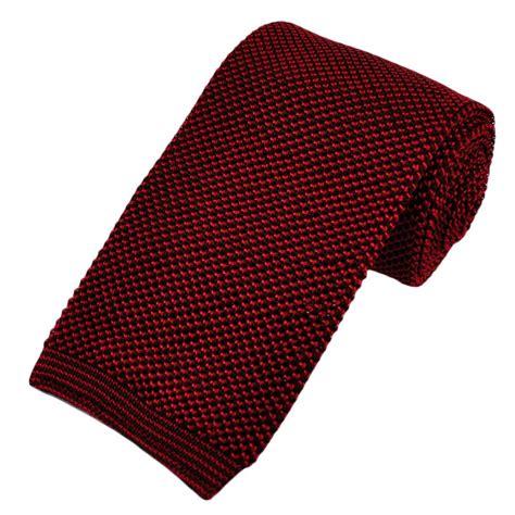 knit ties chocolate brown raspberry premium knit silk tie from