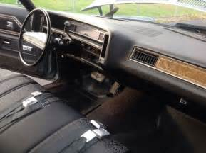 1971 chevrolet caprice impala original and for sale