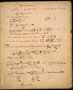 Einstein Essay by アインシュタインのノートには何が書かれているのか Gigazine