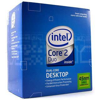 Intel 2 Duo E7500 Tray Fan intel 2 duo cpu 2 93 ghz e7500 3mb cache 1066 mhz with original fan