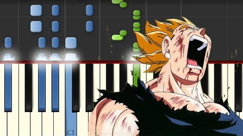 tutorial piano dragon ball z dragon ball z cancion triste piano tutorial
