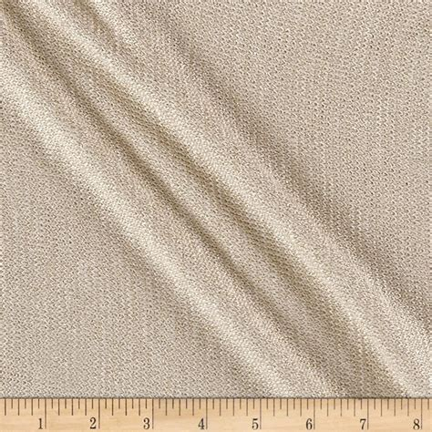 hatchi knit fabric hatchi knit metallic ivory discount designer fabric