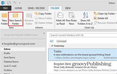 How To Search Outlook Email Outlook 2013 How To Use Search Folders To Find Email Fast