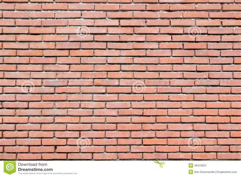 the seams on a sted concrete wall disappear when the brick wall with cement joints stock photo image 46473021