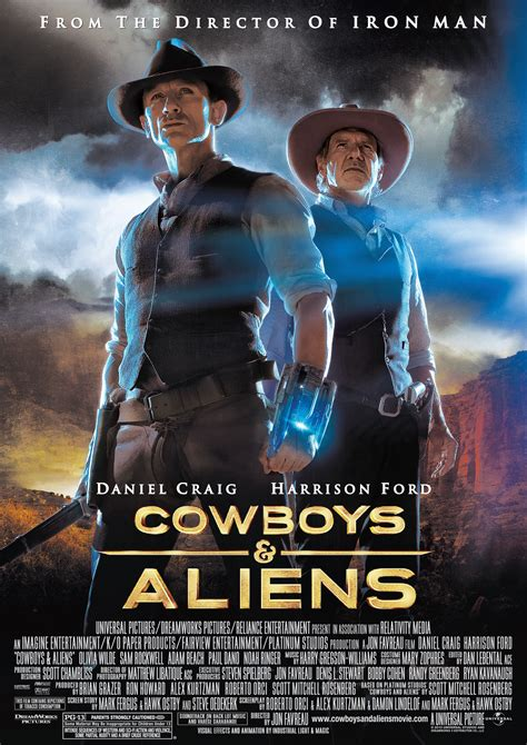 cowboy and aliens film movie review jon favreau s cowboys aliens starring